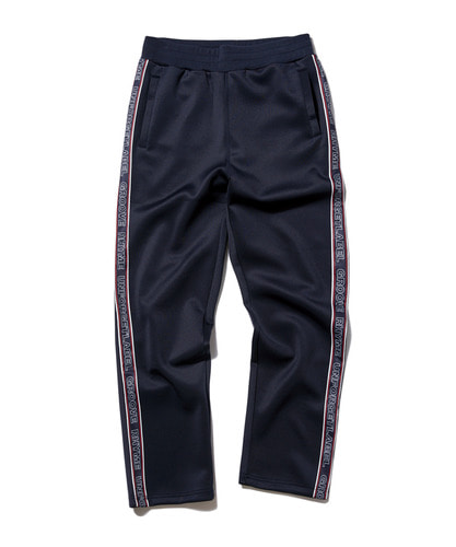 [그루브라임] 2018 JERSEY RUSSELL LOGO TAPE SET TRAINING PANTS (NAVY) [GTP003G33NA]