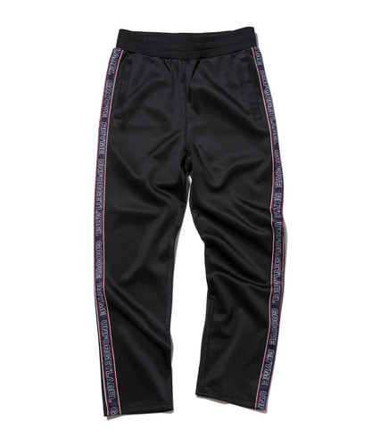 [그루브라임] 2018 JERSEY RUSSELL LOGO TAPE SET TRAINING PANTS (BLACK) [GTP003G33BK]