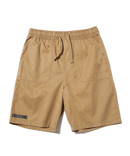 DECK STITCH HALF PANTS (BEIGE) [GSP003H23BE]
