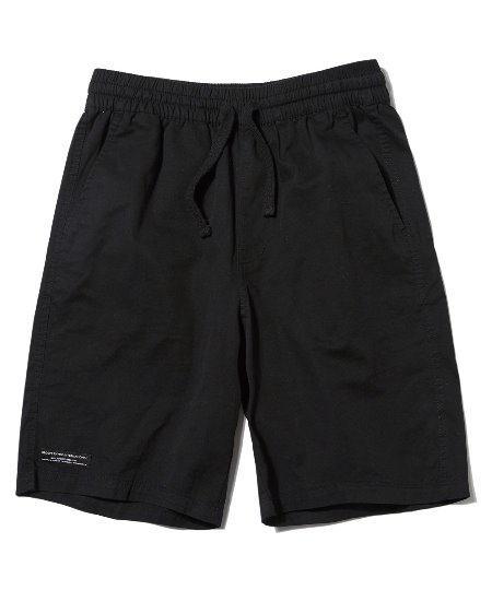 [그루브라임] BASIC HALF PANTS (BLACK) [GSP020H23BK]
