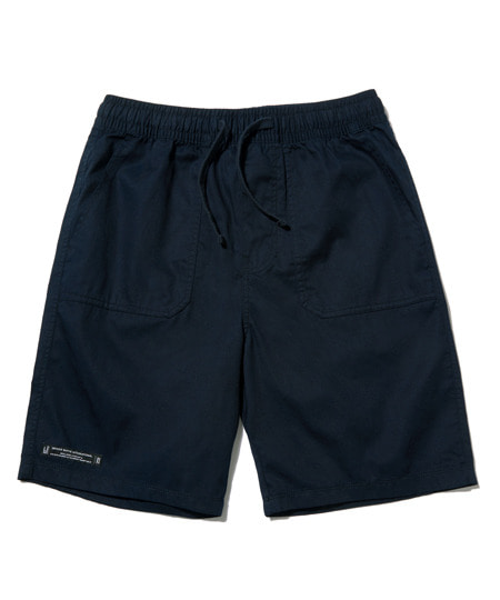 DECK STITCH HALF PANTS (NAVY) [GSP003H23NA]