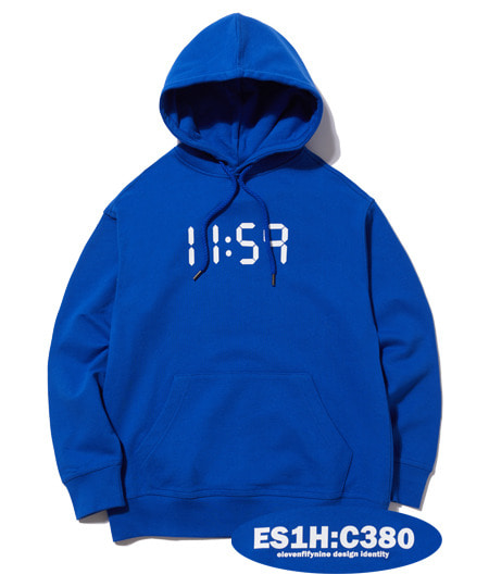 C380 OVER FIT HOOD (BLUE) [EHD001H13BL]