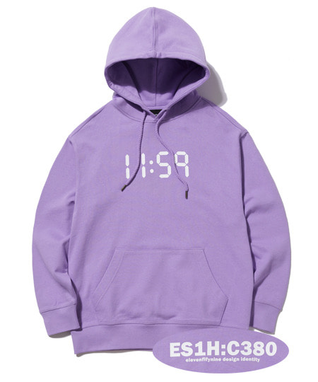 C380 OVER FIT HOOD (LIGTH PURPLE) [EHD001H13LU]