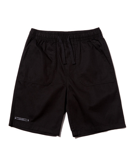 DECK STITCH HALF PANTS (BLACK) [GSP003H23BK]