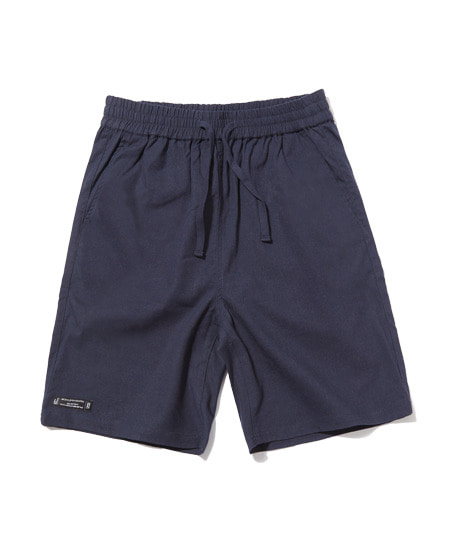 [그루브라임] E-BAND BASIC LINEN HALF PANTS (NAVY) [GSP002H23NA]