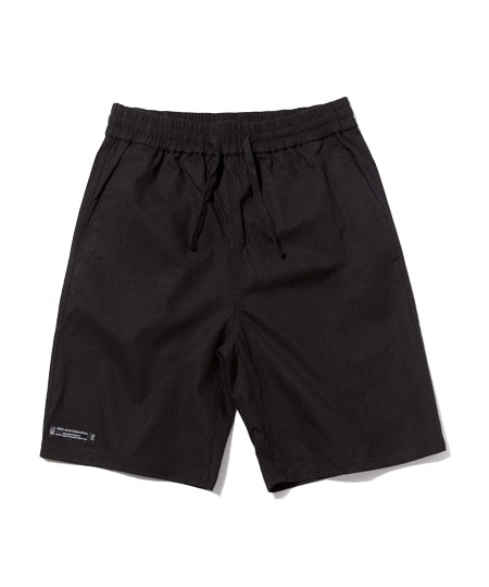 [그루브라임] E-BAND BASIC LINEN HALF PANTS (BLACK) [GSP002H23BK]