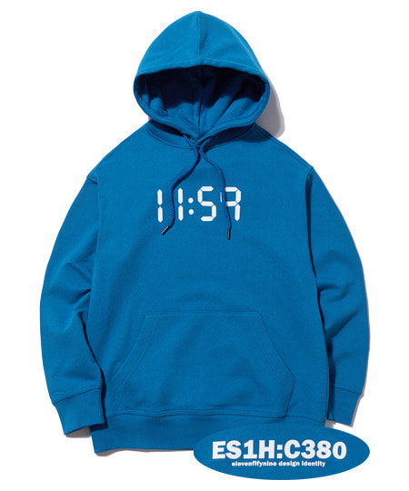 C380 OVER FIT HOOD (SKY BLUE) [EHD001H13SB]