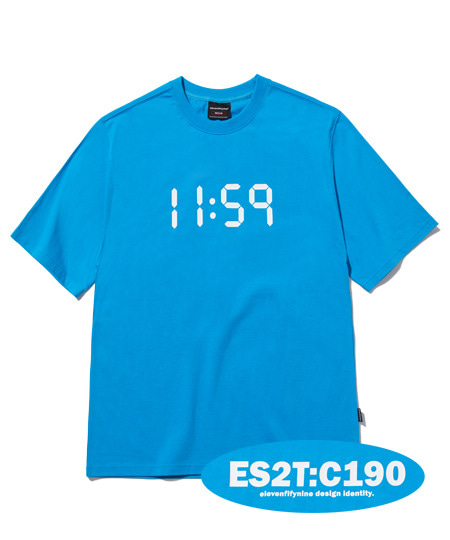 BASIC REGULAR FIT T-SHIRTS (SKY BLUE) [ETS020H23SB]